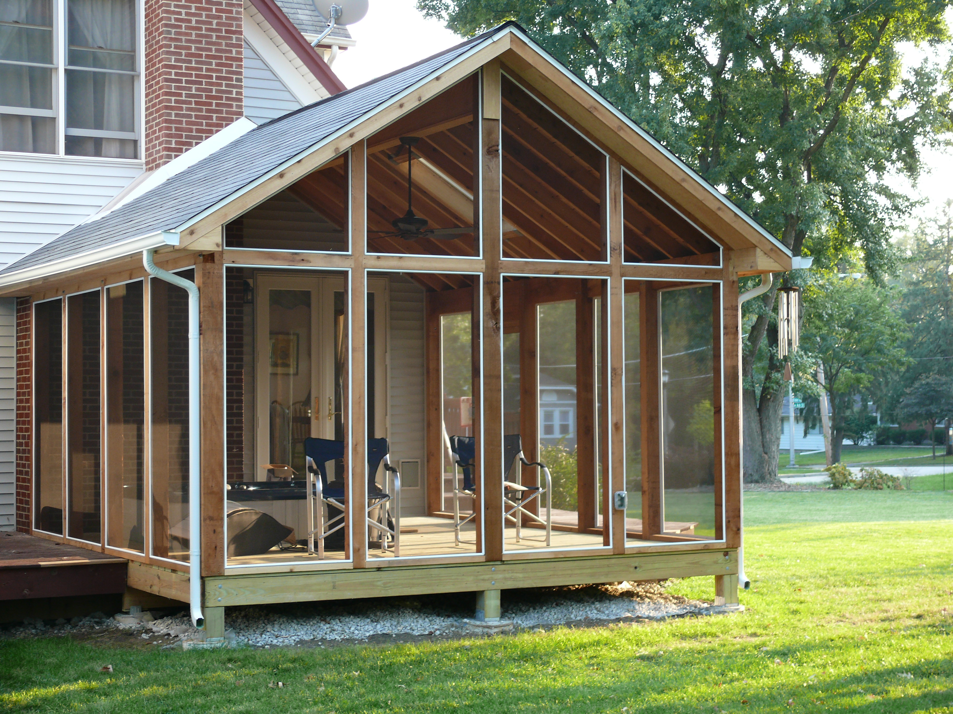 TimberBuilt Screen Rooms | Screened Porches